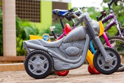 A toy bike for kids