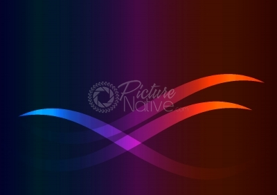 Colored wavy background
