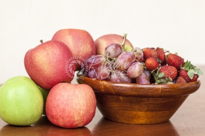 Fruits on a Bowl