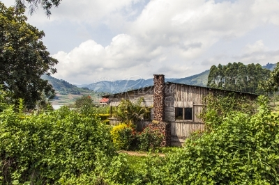 Guest house near Lake Bunyonyi in Kabale, Uganda