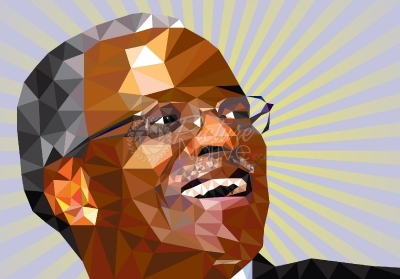 Illustration of Amama Mbabazi