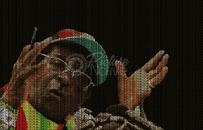Illustrative portrait of Robert Mugabe