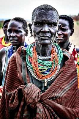 Karamojong female elder