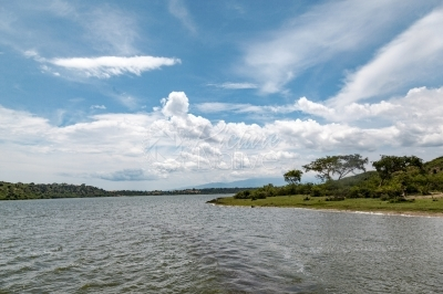 Kazinga Channel in Uganda