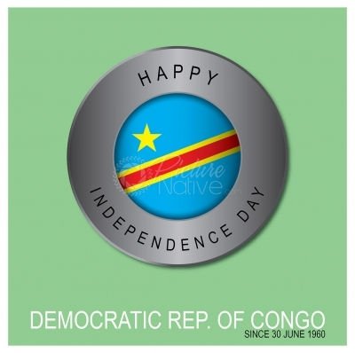 Independence day, Democratic Republic of Congo
